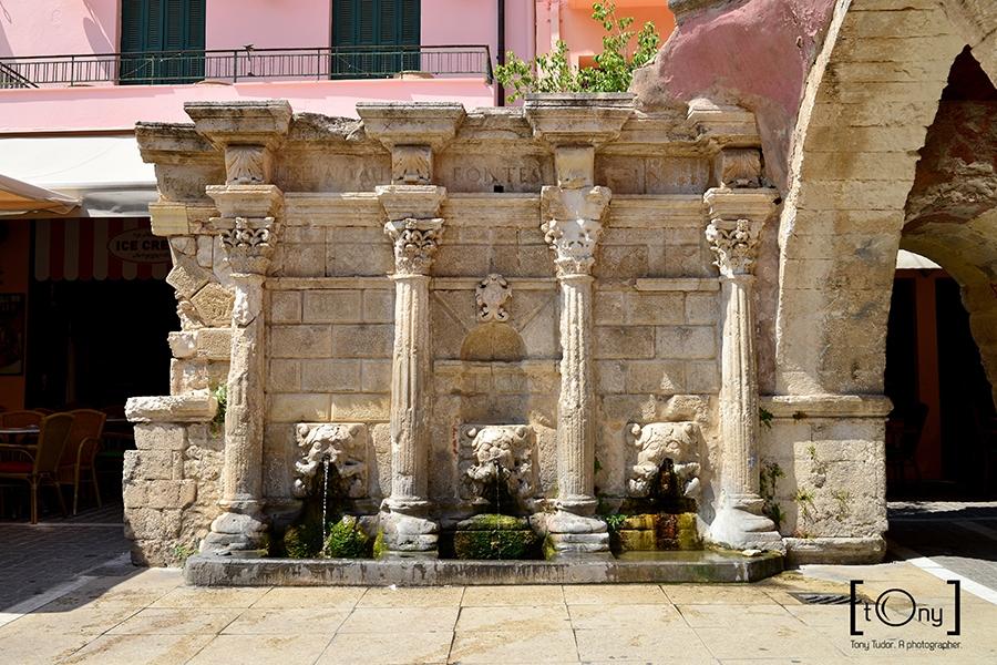 Rethymno old fountain
