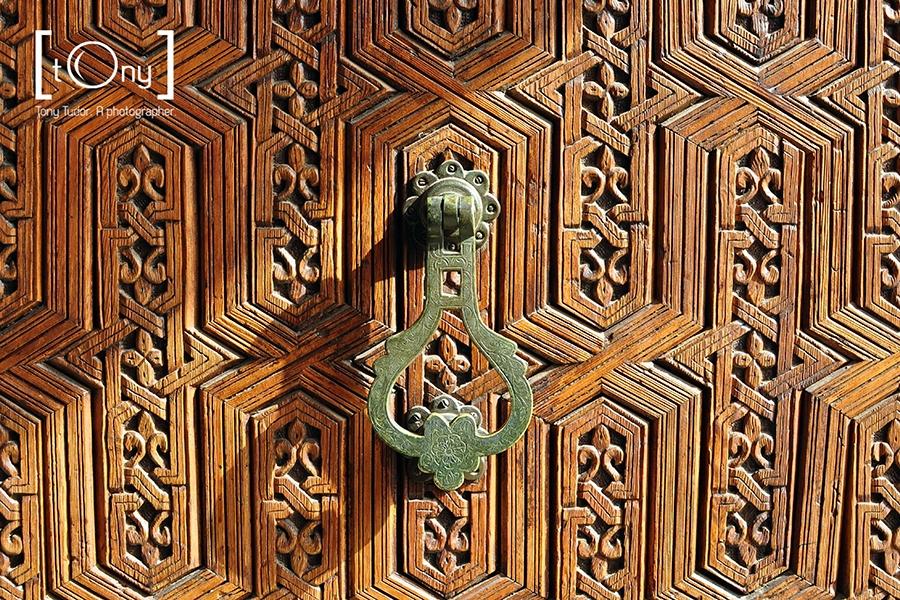 arab door detail
